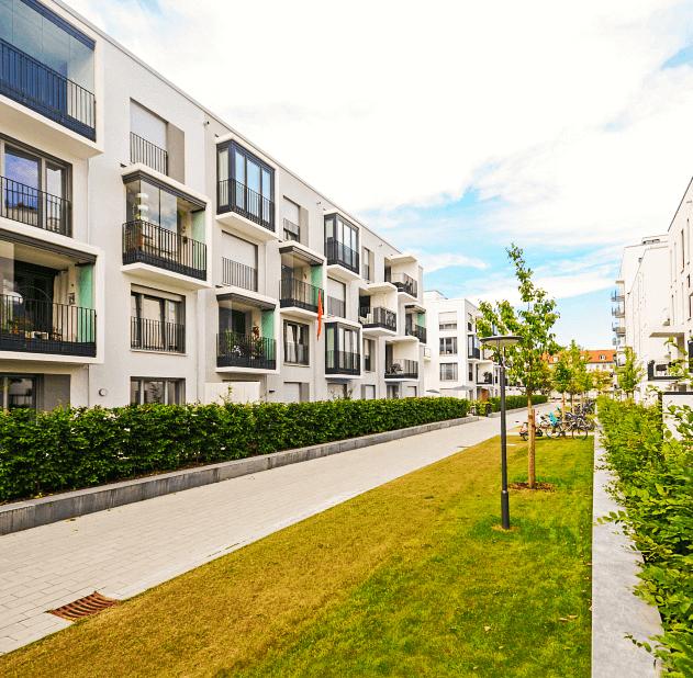 apartments & building